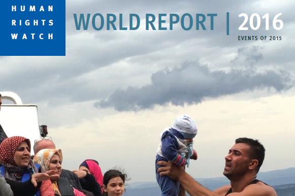 HRW:n vuosiraportti maailman ihmisoikeustilanteesta