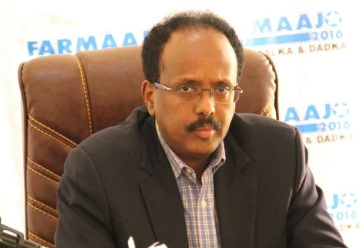 Somaliaan uusi presidentti