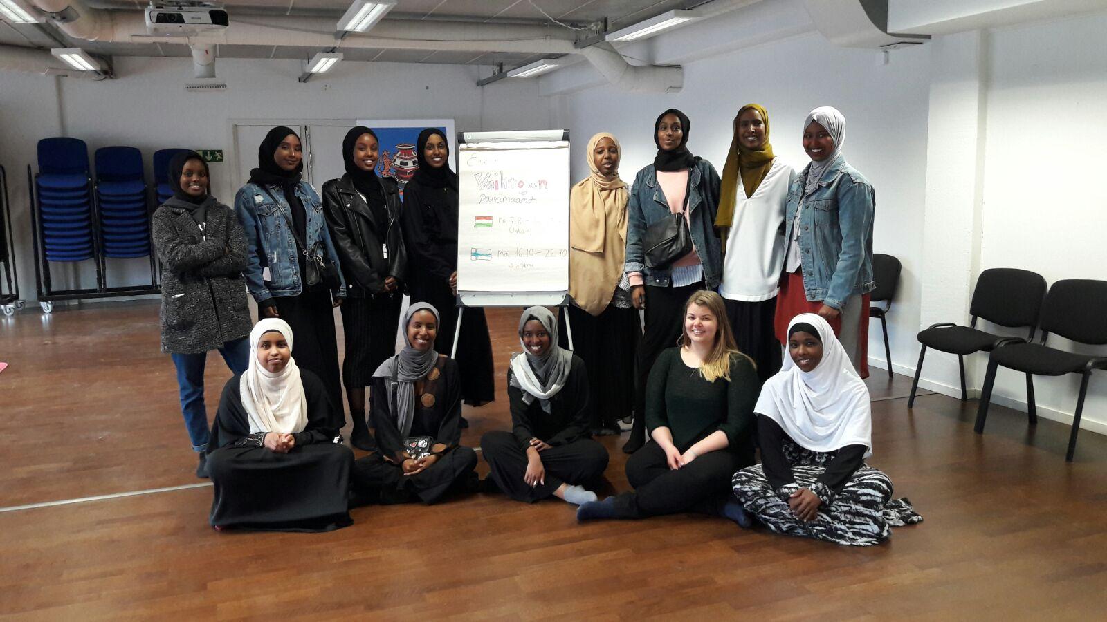 Suomensomalialaiset naiset ja unkarilaiset kumppanit pohtivat jatkossa yhdessä yrittäjyyttä