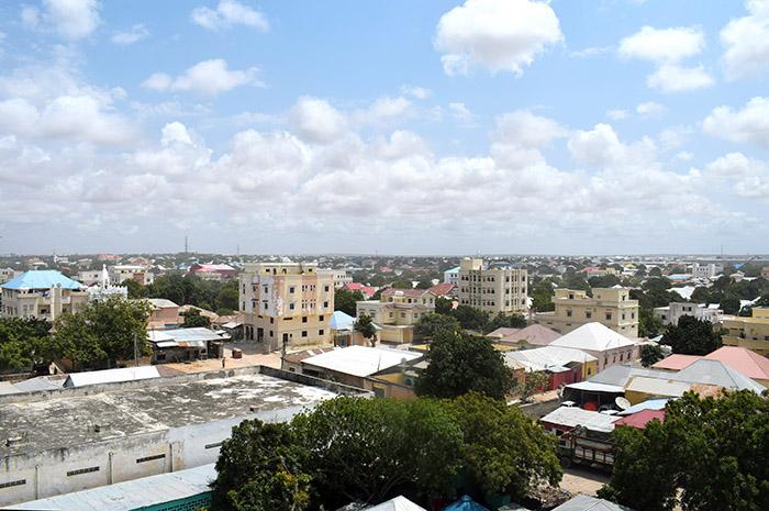 Terveisiä Mogadishusta!