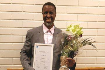 Onnea Hussein Absuge Kulttuuriseppä -tunnustuksesta!